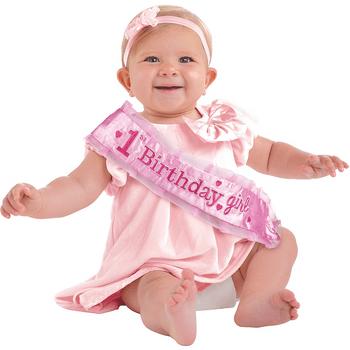 Banda Rosa Primer Cumpleaños