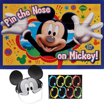 Juego para Fiesta Mickey Mouse