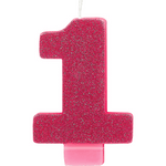 Vela-de-Cumpleaños-Rosa-Numero-1