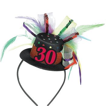 Diadema con Mini Sombrero