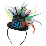 Diadema-con-Mini-Sombrero-No.-50