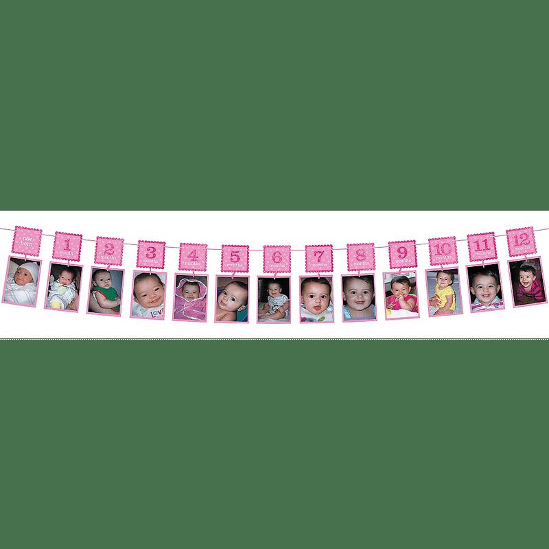 Guirnalda-de-Fotos-Primer-Cumpleaños-Rosa