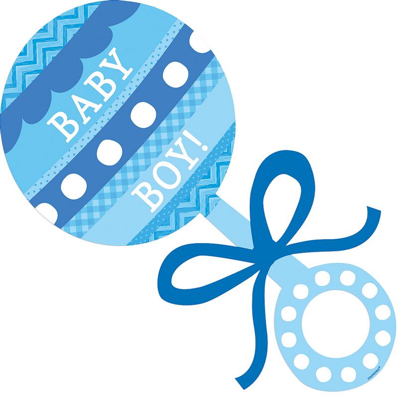 Figura-Recortable-Sonaja-Azul-Niño