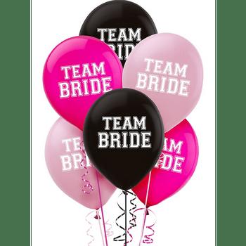 Globos de Látex Team Bride, 15 piezas