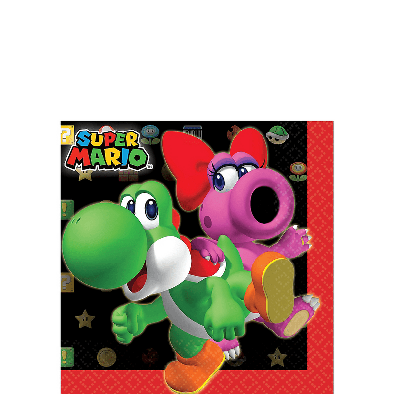 Servilletas-para-Bebidas-Super-Mario-16-piezas
