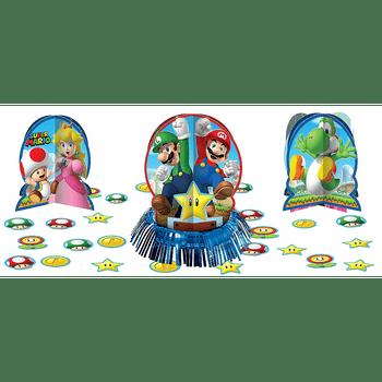 Kit de Decoración para Mesa Super Mario, 23 piezas