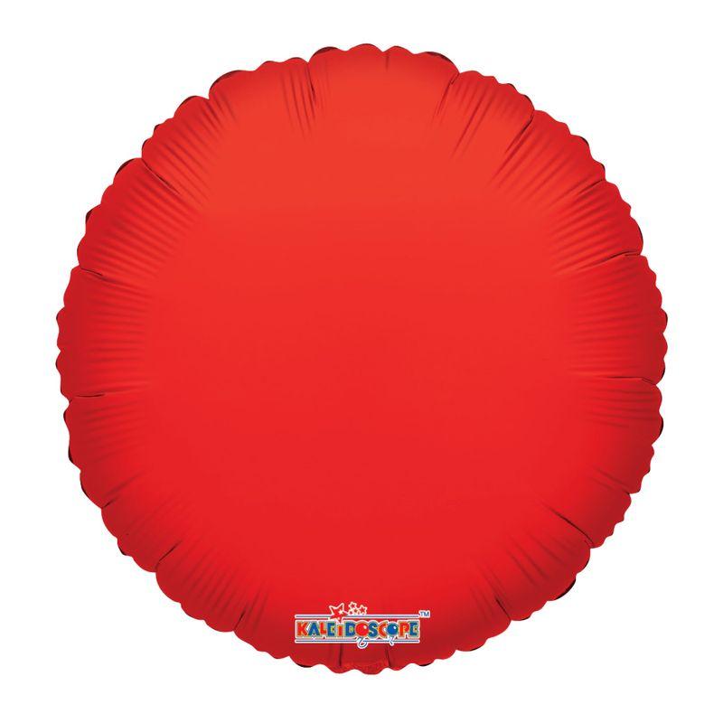 Globo-Metalico-Circulo-Rojo-18-Pulgadas