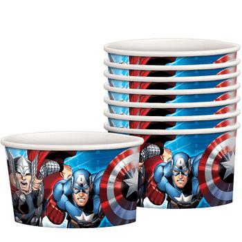Vasos para Postre Avengers, 8 piezas