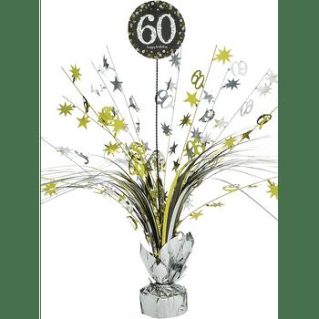 Centro de Mesa Spray Celebración 60