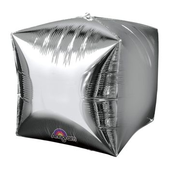 Globo Metálico Cubo de 15 Pulgadas