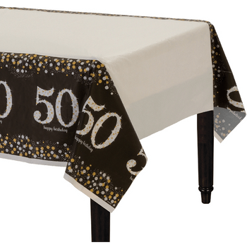 Mantel de Plástico Celebración 50