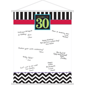 Hoja para Firmas Celebración 30