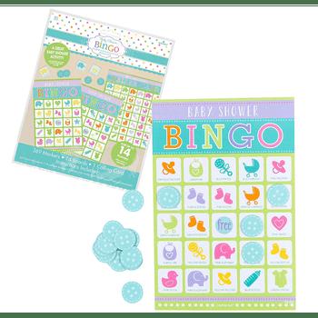 Juego de Bingo para Baby Shower