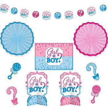 Kit de Decoración para Habitación Revelación de Género, 10 piezas