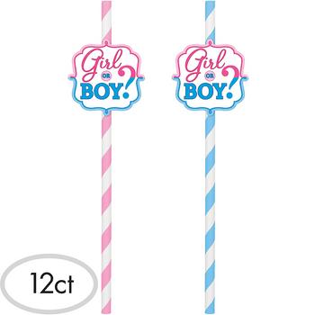 Popotes de Papel Girl or Boy Revelación de Género