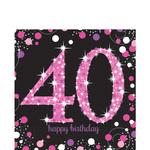 Servilletas-para-Lunch-Celebracion-40-Negro-y-Rosa-16-piezas