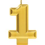 Vela-de-Cumpleaños-Dorada-Numero-1