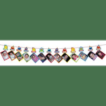 Guirnalda para Fotos de Elmo Primer Cumpleaños