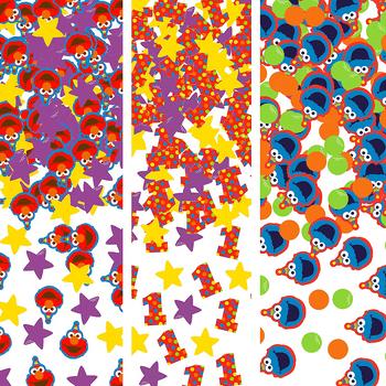 Confeti de Elmo Primer Cumpleaños 1.2 oz