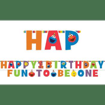 Kit Banner de Cumpleaños Elmo