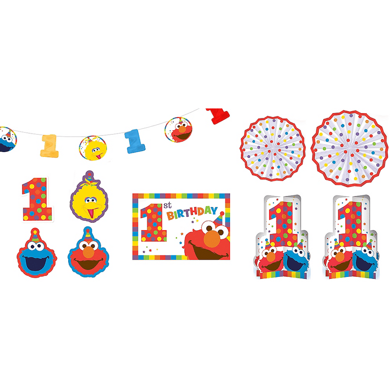 Kit-de-Decoracion-para-Habitacion-Elmo-Primer-Cumpleaños