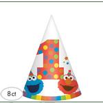 Gorritos-de-Fiesta-Elmo-Primer-Cumpleaños