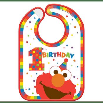 Babero Elmo Primer Cumpleaños