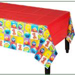 Mantel-de-Plastico-Elmo-Primer-Cumpleaños