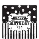 Platos-Cuadrado-de-Papel-Pizarra-Happy-Birthday-8-piezas