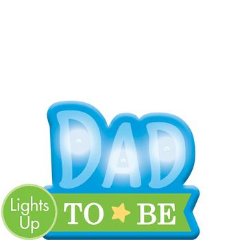Botón Luminoso Dad to Be