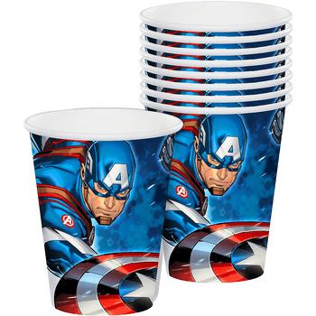 Vasos de Papel Avengers, 8 piezas