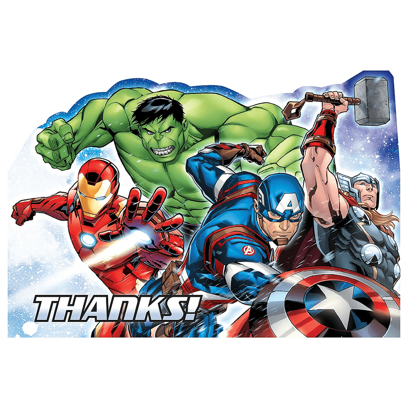 Tarjetas-de-Agradecimiento-Avengers