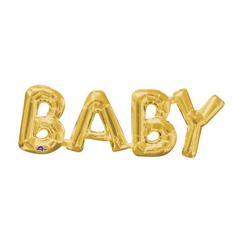 Globo-Metalico-Dorado-Baby-26-Pulgadas
