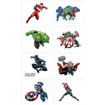 Planilla-de-Tatuajes-Temporales-Avengers