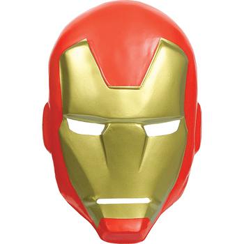 Máscara de Plástico Iron Man Avengers