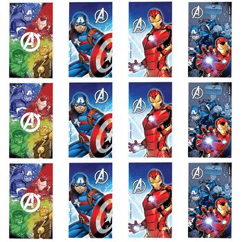 Libretas Avengers, 12 piezas