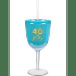 Copa-para-Vino-con-Popote-Cumpleaños-No.-40