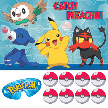 Juego para Fiesta Pokémon