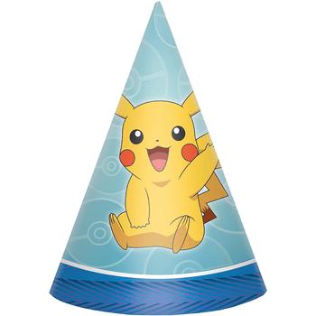 Gorritos de Fiesta Pokémon, 8 piezas