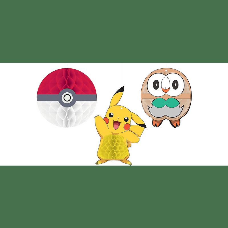 Decoraciones-Colgantes-de-Papel-Pokemon