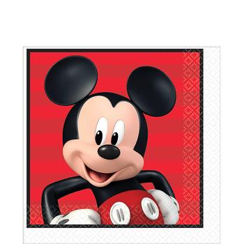 Servilletas para Lunch Mickey Mouse, 16 piezas