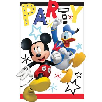 Invitaciones Mickey Mouse, 8 piezas