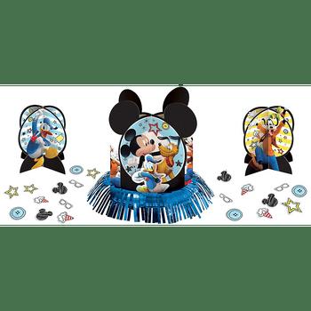 Kit de Decoración para Mesa Mickey Mouse, 23 piezas