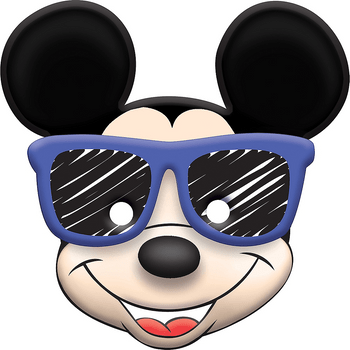Máscaras Mickey Mouse