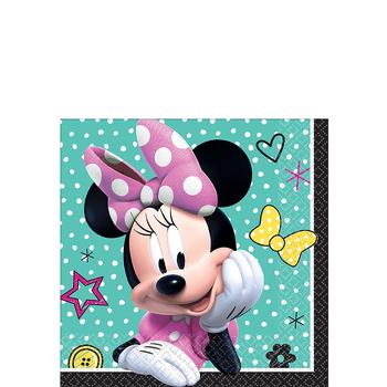 Servilletas para Bebidas Minnie Mouse, 16 piezas