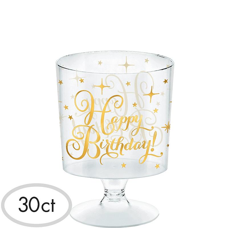 Mini-Vasos-de-Plastico-con-Pedestal-para-Cumpleaños-30-piezas