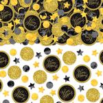 Confeti-para-Cumpleaños-Negro-y-Dorado
