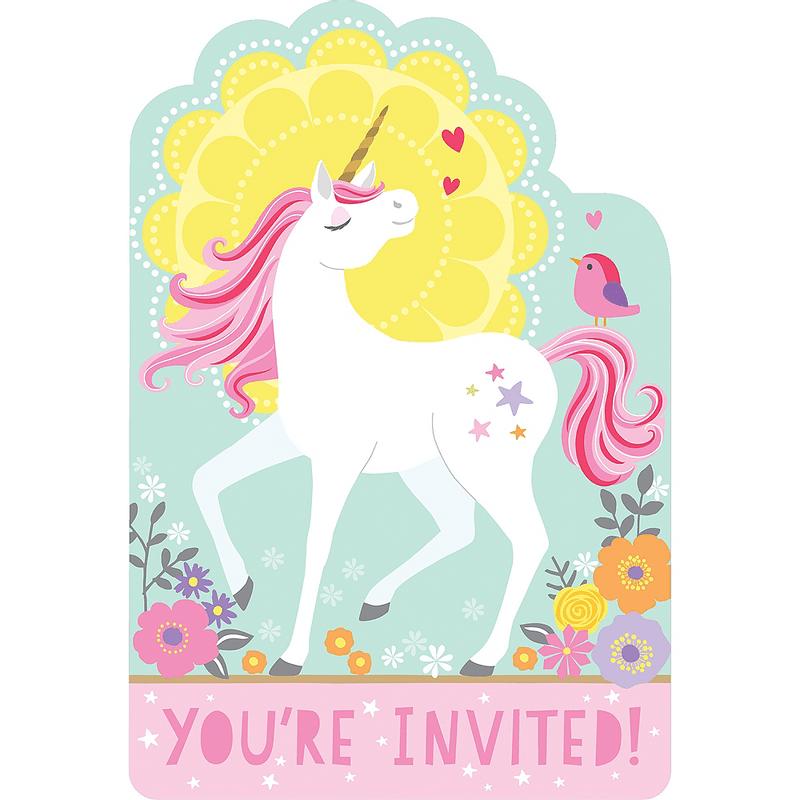 Invitaciones-Unicornio-Magico