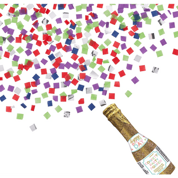 Botella Popper Cumpleaños Dorado