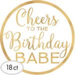 Portavasos-Birthday-Babe-18-piezas